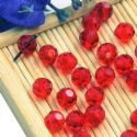 Beads, Auralescent Crystal, Crystal, Burgandy , Faceted Rounds, Diameter 6mm, 10 Beads, [ZZC234]